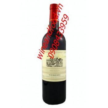 Rượu vang đỏ Duc de Valjean