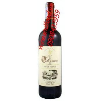 Rượu vang đỏ Eliance 750ml