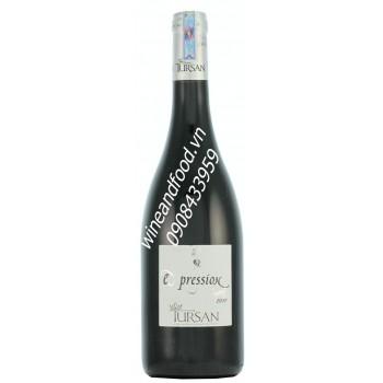 Rượu vang đỏ Expression Tursan