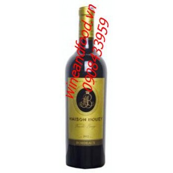 Rượu vang đỏ Maison Bouey 2012