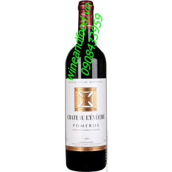 Rượu vang đỏ Pomerol Chateau Leveche 2007