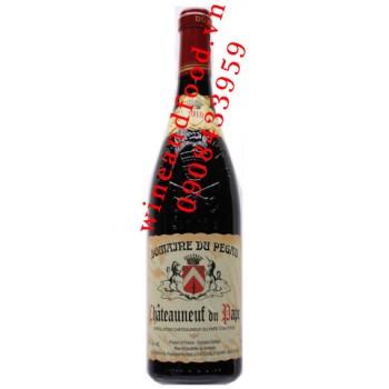 Rượu vang Domaine du Pegau Chateauneuf du Pape 2012