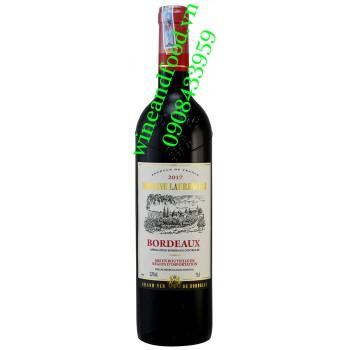 Rượu vang Domaine Laurenceau Bordeaux 750ml