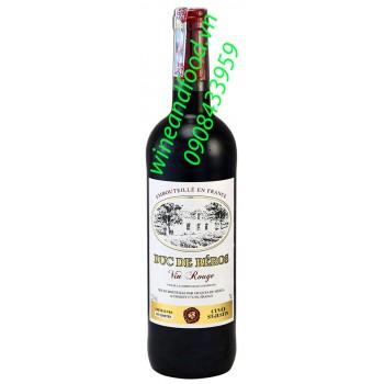 Rượu vang Duc De Beros 750ml