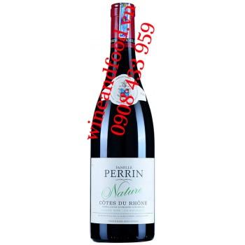 Rượu vang Famille Perrin Nature Côtes Du Rhône Organic
