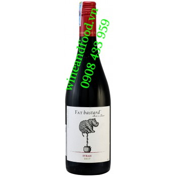 Rượu vang Fat Bastard Syrah Thierry & Guy Pays d'Oc 750ml
