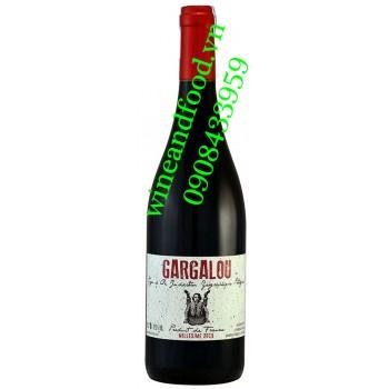 Rượu vang Gargalou đỏ 750ml