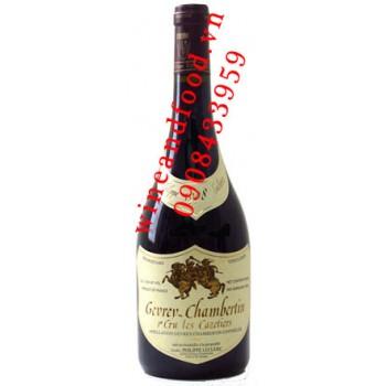 Rượu vang Gervrey Chambertin Les Cazetiers Philippe Leclerc