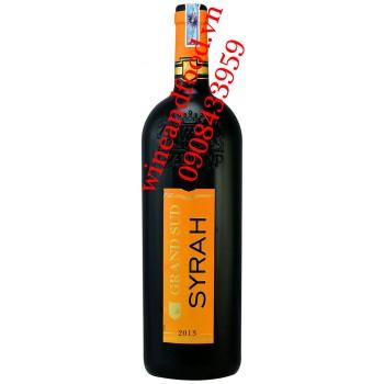 Rượu vang Grand Sud Syrah 1l