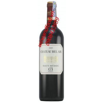 Rượu vang Haut Medoc Chateau Belair