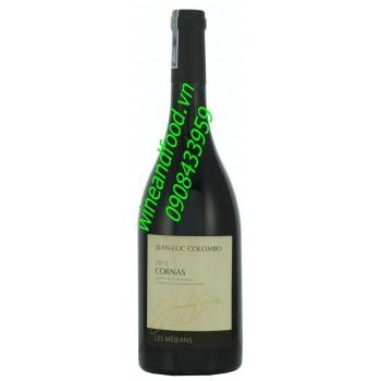 Rượu vang Jean Luc Colombo Cornas 2012