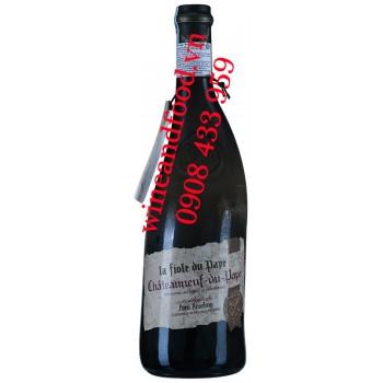 Rượu vang La Fiole Du Pape Chateauneuf Du Pape 750ml