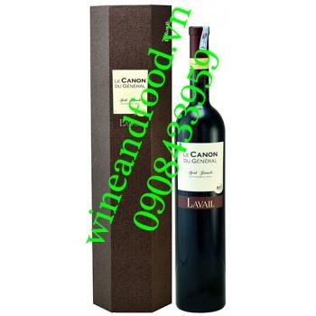Rượu vang Le Canon Du General Syrah Grenache 1500ml
