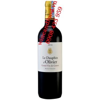 Rượu vang Le Dauphin d'Olivier Pessac Leognan