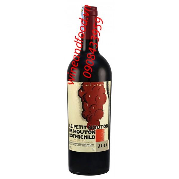 Rượu vang Le Petit Mouton de Mouton Rothschid 2ème vin 2010