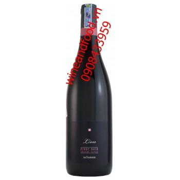 Rượu vang Leon de Fournier Pinot Noir Grande Cuvee 2013