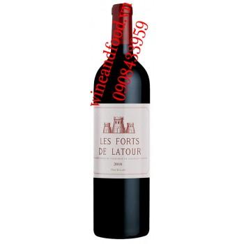 Rượu vang Les Forts De Latour 2ème Vin 2000