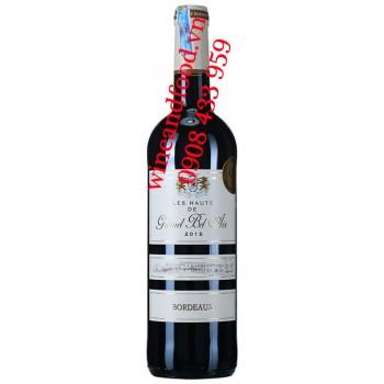Rượu vang Les Hauts de Gromel Bel Air 750ml