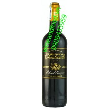 Rượu vang L'Heritage De Chantecaille 2012