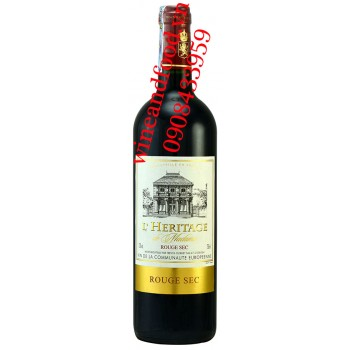 Rượu vang L'Heritage de Madame 750ml