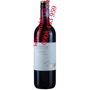 Rượu vang Maison de Vigneron Pays de Vaucluse 750ml