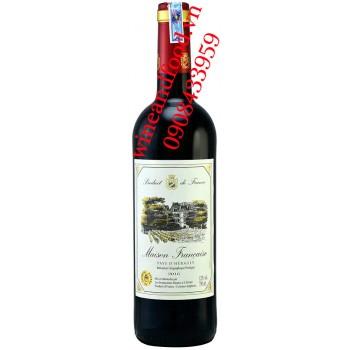 Rượu vang Maison Francaise Pays D'herault 750ml