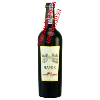 Rượu vang Mayor Merlot Cabernet Sauvignon 750ml