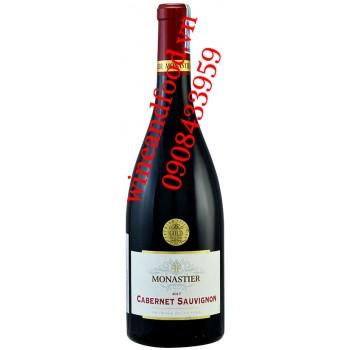 Rượu vang Monastier Cabernet Sauvignon Pays D'OC 750ml