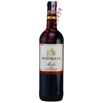 Rượu vang Montrouge Merlot IGP 750ml