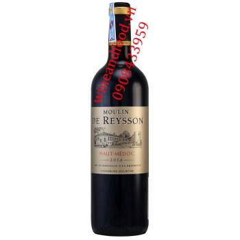 Rượu vang Moulin de Reysson Haut Medoc