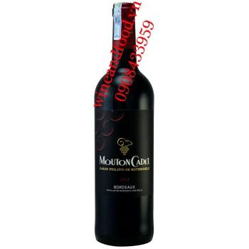 Rượu vang Mouton Cadet Bordeaux 750ml
