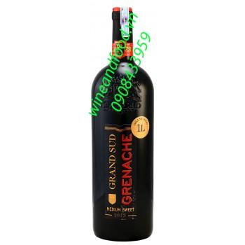 Rượu vang ngọt Grenache Grand Sud 1l