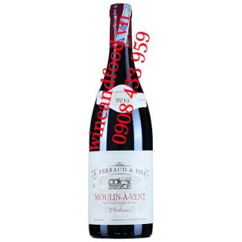 Rượu vang P.Ferraud & Fils Moulin À Vent L'eolienne 750ml