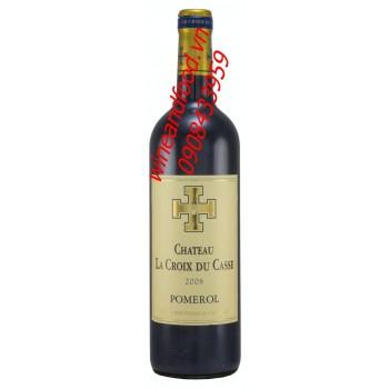 Rượu vang Pomerol chateau La Croix Du Casse