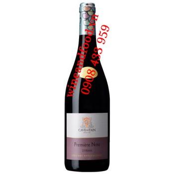 Rượu vang Premiere Note IGP Collines Rhodaniennes Syrah