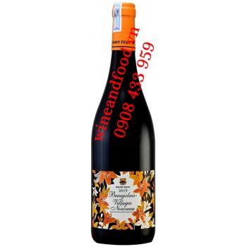 Rượu vang tươi Beaujolais Nouveau Henny Fessy 750ml