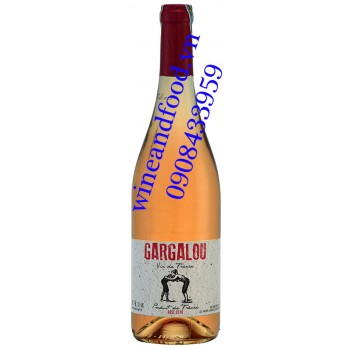 Rượu vang Gargalou Rose hồng 750ml