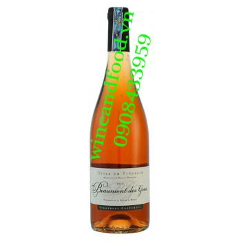 Rượu vang Beaumont Des Gras hồng 750ml