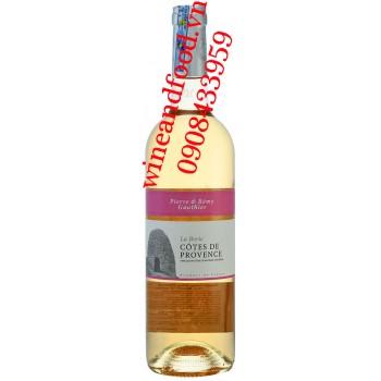 Rượu vang Hồng Cotes de Provence La Borie Pierre & Remy Gauthier