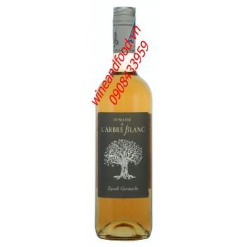 Rượu vang hồng Domaine de L'arbre Blanc