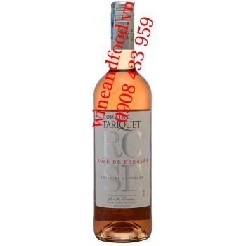 Rượu vang Hồng Domaine Tariquet Rosé de Pressée