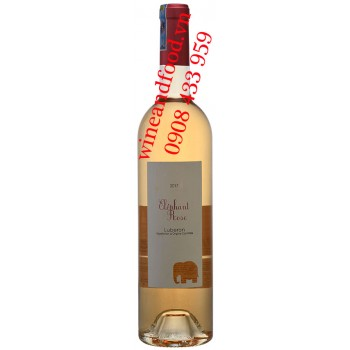 Rượu vang hồng Eléphant Rose Luberon 750ml