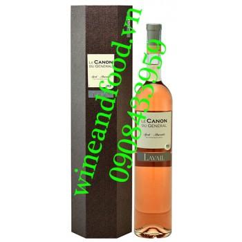 Rượu vang hồng Le Canon Du General Syrah Mourvedre 1500ml