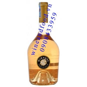 Rượu vang Hồng Miraval Provence 750ml
