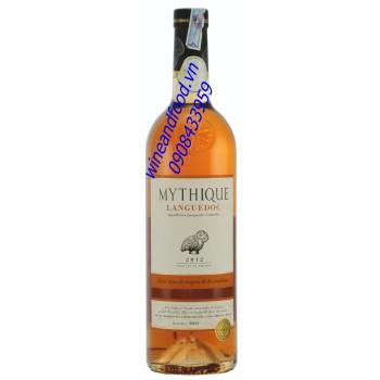 Rượu vang hồng Mythique Languedoc 2012