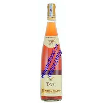 Rượu vang hồng Tavel Vidal Fleury