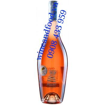 Rượu vang Muse de Collioure Rosé 750ml