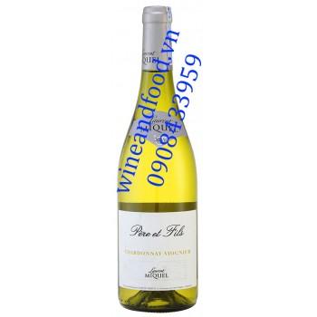 Rượu vang Laurent Miquel Pere et Fils Chardonnay