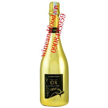 Rượu vang OR Chardonnay Brut 750ml