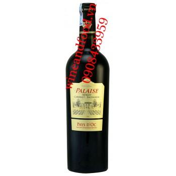 Rượu vang Palaise Pays D'OC Merlot Cabernet Sauvignon
